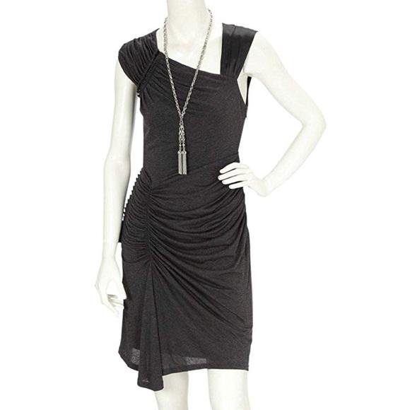 54ed97fe83c Karen Millen Gray Drape Jersey Dress 6 $160. M_5b5e4f1e0945e0391736e52a